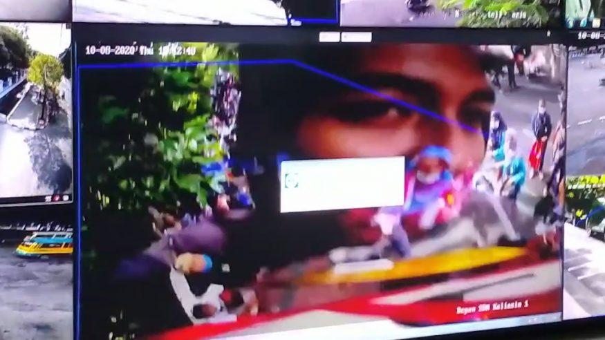 Pelaku pengambilan CCTV saat demo/ist