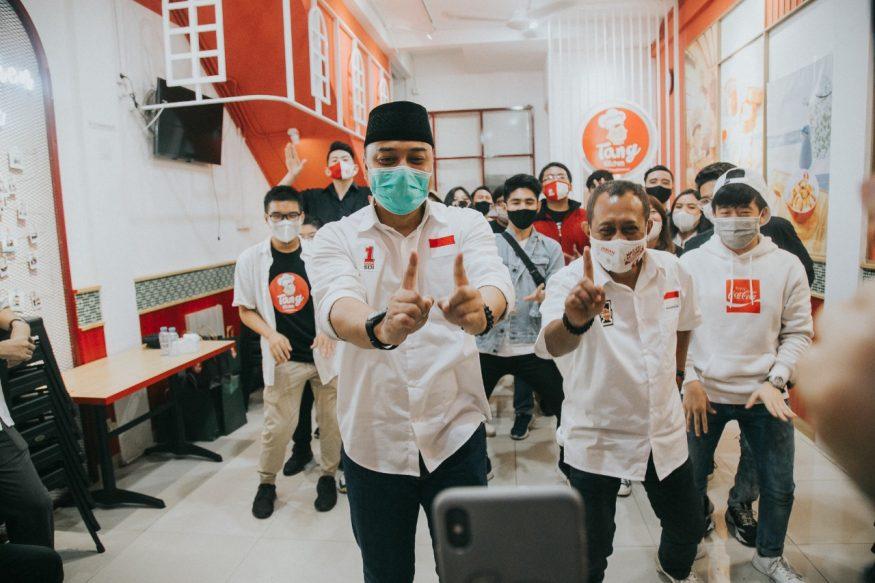 Calon Wali Kota dan Calon Wakil Wali Kota Surabaya/ist