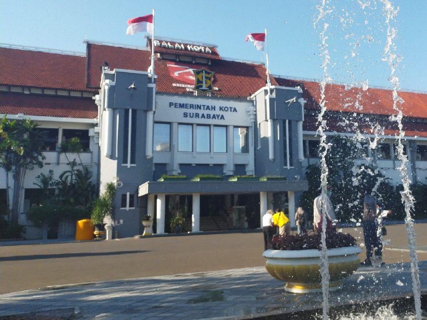 Balai Kota Surabaya /dok. redaksi