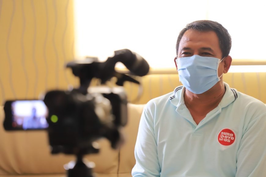 Kadispendik Surabaya, Supomo /Ist