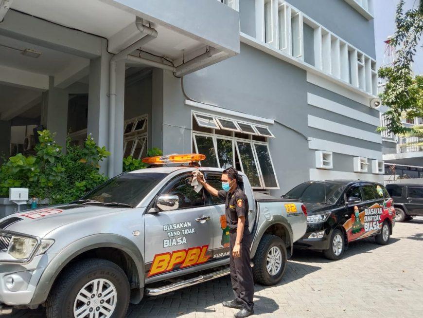 Mobil dinas Kaban Linmas/BS01