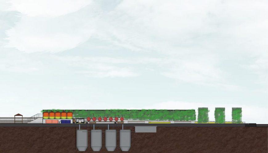 Rancangan keseluruhan IPAL oleh tim Grisse dari ITS /Ist