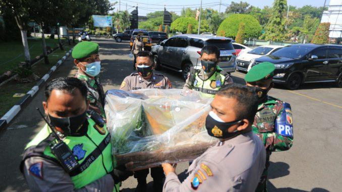 Kejutan dari Polrestabes Surabaya kepada Korem 084 Bhaskara Jaya | Hum