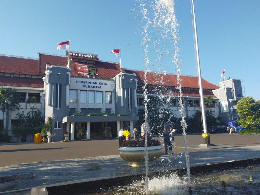 Balai Kota Surabaya/ist