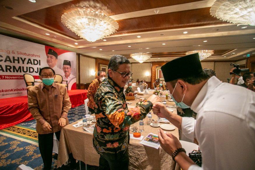 Sekjen DPP PDIP saat bertemu Eri/ist