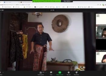 Pembukaan konsorsium Sura-Bali 2020 secara daring di Kampus UK Petra /Ist