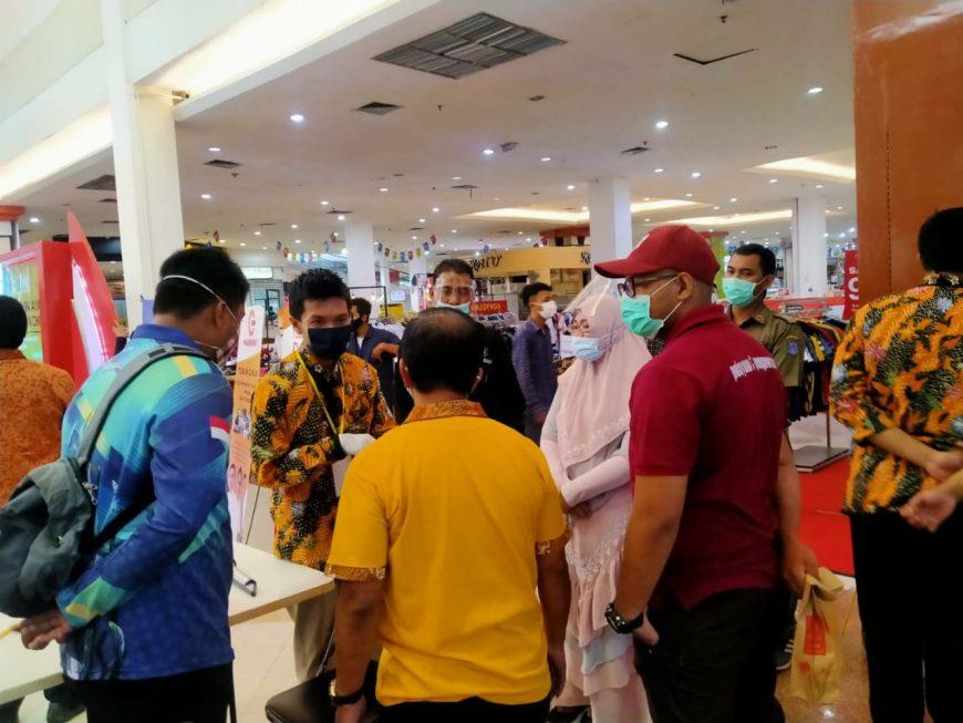 Satgas Percepatan Penanganan Covid-19 Surabaya menghentikan kegiatan Job Matching yang diadakan SMKN 10 Surabaya /Ist