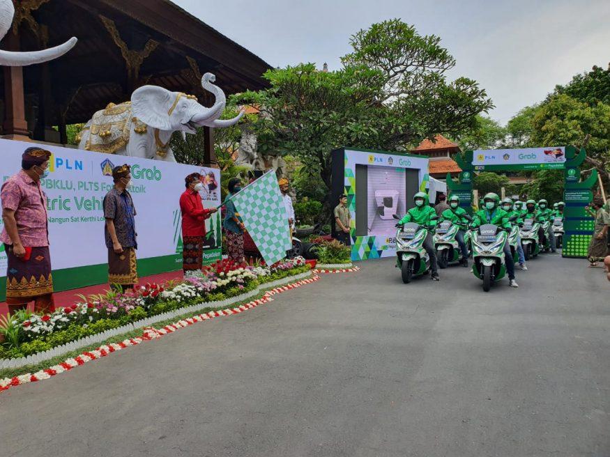 Proses peresmian SPBKLU di Bali/ist