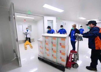 Vaksin Sinovac disimpan di Bio Farma Bandung, Jawa Barat /dok. Setkab RI