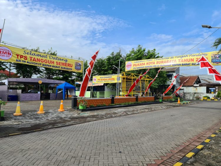 TPS RW08 Rungkut Mapan Barat Surabaya /Ist