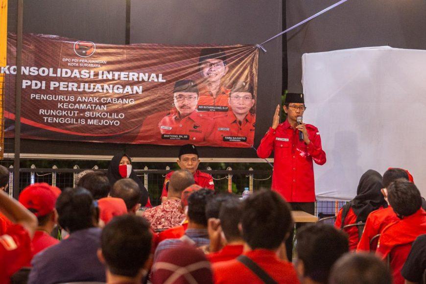 Ketua DPC PDIP Surabaya Adi Sutarwijono/ist