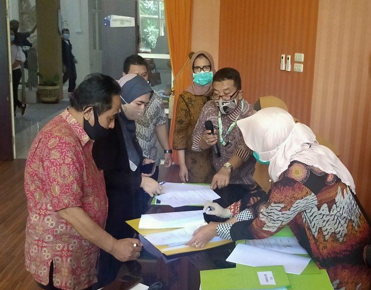 Penandatanganan NPHD pariwisata berlangsung di Mal Pelayanan Publik, Siola Lantai 2 /Foto: Bicara Surabaya