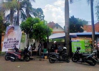 Warung Ridho berlokasi di Jalan Anwari, Tegalsari Surabaya /Foto: Bicara Surabaya