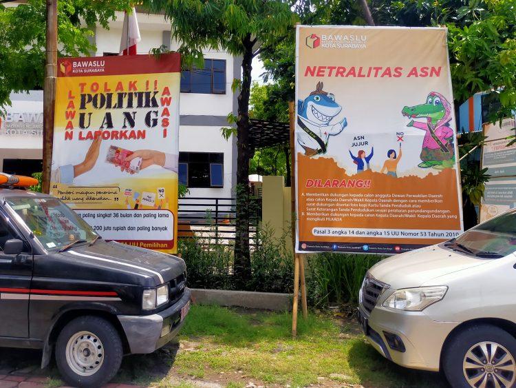 Kantor Bawaslu Surabaya /Ist