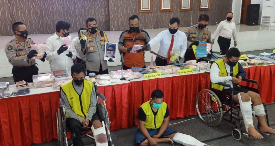 Dok. Polisi Surabaya ungkap kasus penyalahgunaan narkotika /Ist