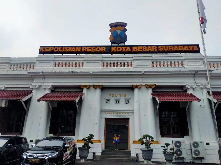 Ilustrasi Gedung Mapolrestabes Surabaya /foto: Bicara Surabaya
