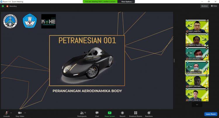Desain perancangan aerodinamika body /Ist