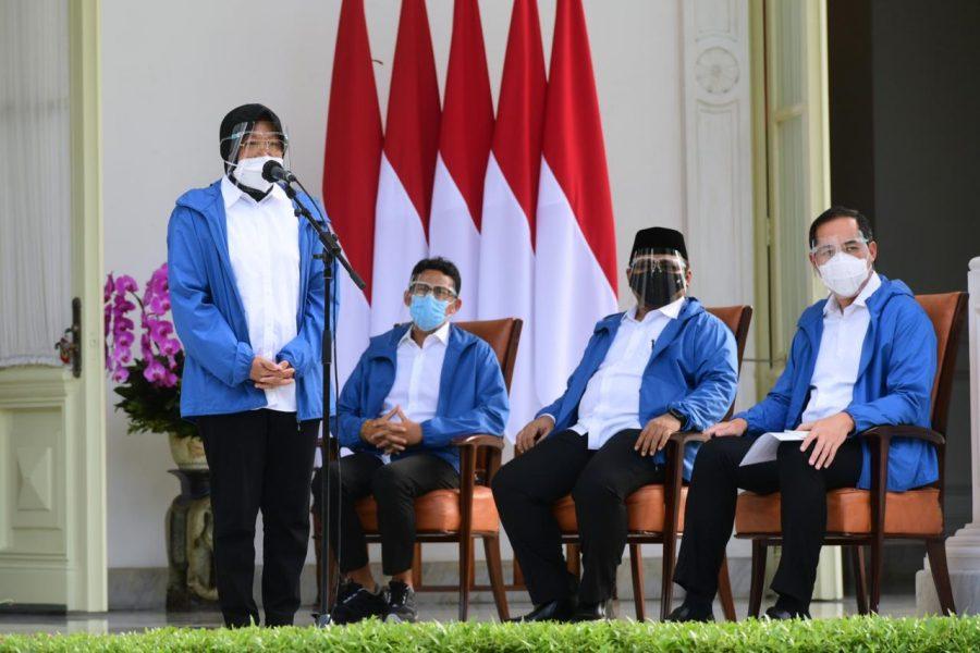 Menteri Sosial RI, Tri Rismaharini (Dok. Biro Pers Setpres)