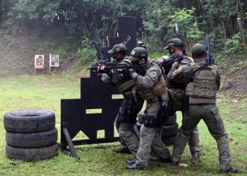 Latihan tembak reaksi Yontaifib 2 Mar /dok. Dispen Kormar