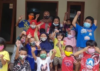 Anak-anak terlihat antusias mengikuti kegiatan /Ist