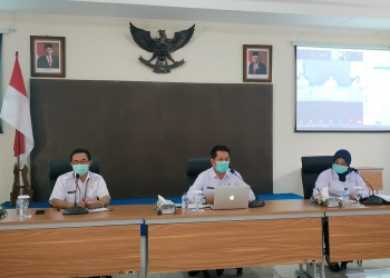 Virtual Meeting koordinasi persiapan pelayanan KB 2021 /Ist