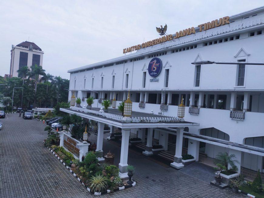 Kantor Gubernur Jatim, Jalan Pahlawan No. 110 Surabaya /foto: Bicara Surabaya