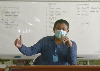 Wakil Sekretaris Satgas Percepatan Penanganan Covid-19 Surabaya Irvan Widyanto/ist
