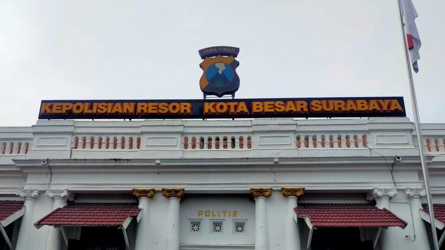 Ilustrasi. Gedung Mapolrestabes Surabaya /dok. Bicara Surabaya