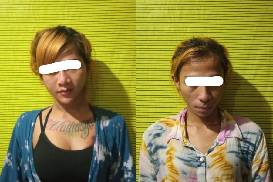 Pelaku saat diamankan di Mapolsek Genteng, Polrestabes Surabaya /Ist
