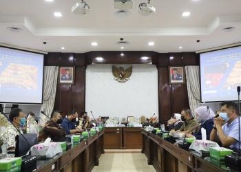 Audiensi Pemkot Surabaya bersama Asosiasi pengusaha RHU/ist