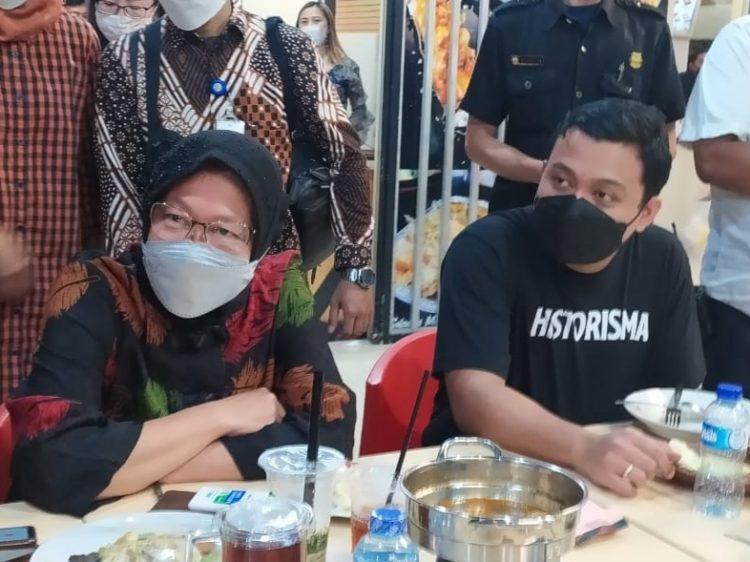Menteri Sosial, Tri Rismaharini saat ditemui di Royal Plaza Surabaya /Ist